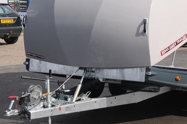Brian James Race Shuttle 3 - hydraulisch kantelbed