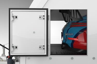 Brian James Race Transporter 4 - toegangsluiken
